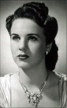 Deanna Durbin...where my name came from!