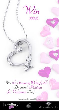 Valentines Competition - win this beautiful pendant at Jewellery Monthly