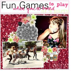 """""""- fun games to play when you're bored at a party // ♥"""" by polywelcomecommittee ❤ liked on Polyvore"""