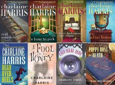 Charlaine Harris is always a good read. This series of 8 bks is also an excellent series of hers.