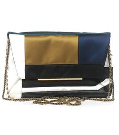 Satin Patchwork Clutch Bag by lanvin  #Matchesfashion