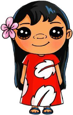 chibi disney's princess by PiccoleGioiefimo Kawaii Girl Drawings, Cute Disney Drawings, Easy Cartoon Drawings, Cute Girl Drawing, Cartoon Girl Drawing, Cartoon Cartoon, Easy Drawings, Drawing Disney, Disney Kawaii