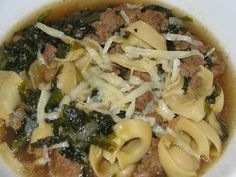 Italian Sausage and Escarole | Food | Pinterest | Lentil Soup, Italian ...