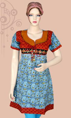 Indian Fashion Latest boom : Kurtis & Tunics. Check out our hundreds of new designs today only @www.styleoindia.com !