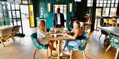 Eating at a restaurant or drinking at a bar could increase the risk of contracting COVID-19 more than other social activities, a new study found.