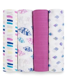Another great find on #zulily! Wink Classic Muslin Swaddles - Set of Four by aden + anais #zulilyfinds
