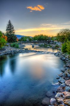 From a Riverside Walk in Reno, Nevada. We feel pretty lucky to be so heavily vested in this community! All Nature, Amazing Nature, Riverside Walk, Reno Tahoe, Reno Nevada, South Lake Tahoe, Adventure Is Out There, Landscape Photos, Beautiful Landscapes