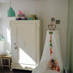 Cute nursery, baby girl, mint-pink#Marije Zijderlaan-Daanen