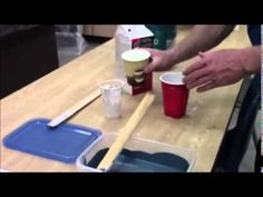 Cheap and Easy Chalk Paint -  DIY - YouTube