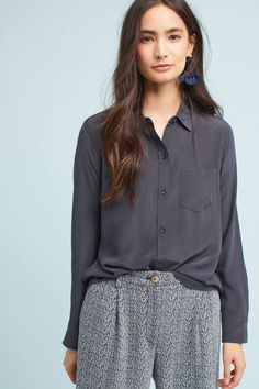 Shop the Rails Silk Pocketed Buttondown and more Anthropologie at Anthropologie today. Read customer reviews, discover product details and more.