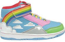I want these Gola rainbow shoes. They remind me of Punky Brewster.