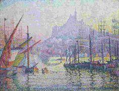 1906 Marseille, Notre-Dame-de-la-Garde, Paul Signac