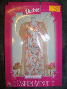 Barbie Fashion Avenue 1997 Peach Rose Lingerie Mint in Package 18092 90S | eBay
