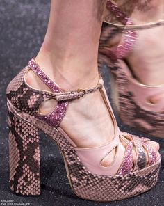 Elie Saab  Fall 2016  Couture Shoes - EE