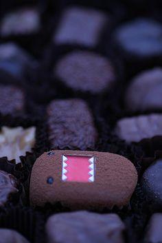 CHOCODOMO! chocolate domo kun truffle?!