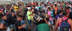 02/2017 - Cuban immigrants stranded in Mexico.  U.S.-bound Cuban migrants are claiming they are stranded at the Siglo XXI detention center in the Mexican city of Tapachula. The migrants have families in the U.S., told the Miami Herald they have received calls for money in exchange for their stranded relatives.
