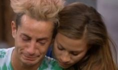 Frankie Grande learns of grandfather's death on Big Brother #RipGrandPaGrande