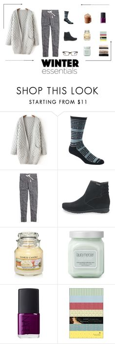 """""""Winter Essentials // 2"""" by mephistousa ❤ liked on Polyvore featuring Mephisto, Madewell, Yankee Candle, Laura Mercier, NARS Cosmetics, Nordstrom, women's clothing, women's fashion, women and female"""