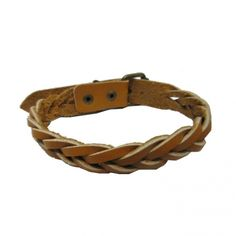 Brown Leather Cord Bracelet GBR10055