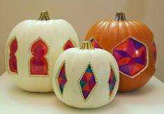 Stained Glass Pumpkins matsutake
