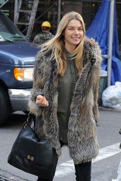 Thank you Jessica. #JessicaHart #fur #fashion #style