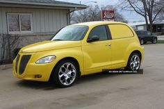 2001 Pt Cruiser Sedan Delivery Custom Built All Steel Head Turner Photos and info - TenWheel Chrysler Pt Cruiser, Pt Cruiser Accessories, Cute Cars, Hot Wheels, Project Ideas, Garage, Vans, Steel, Usa
