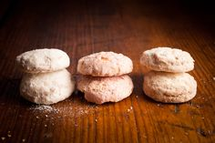 tea cookies in lemon, key-lime and raspberry! Perfect gift...or just for me!