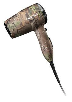 """Check out """"Jeffers Pet : Andis® Camo Personal Care Quiet Turbo Hair Dryer, REALTREE"""" from Jeffers Pet"""