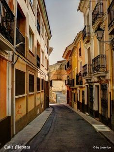 Calle Morotes - Hellin, Spain