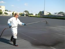 Seal-coating your parking lot is a great way to preserve it and make sure it lasts a lifetime! Not so much for northern climates, but definitely here in the south!