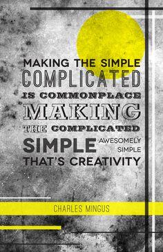 Something simple by Elwira Banki, via Behance