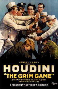 The Grim Game (1919) - Harry Houdini