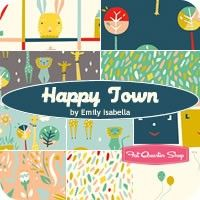 Happy Town Fat Quarter Bundle<BR>Emily Isabella for Birch Fabrics