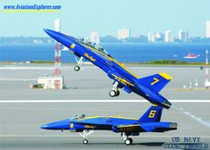 The US Navy Blue Angels Angles Aircraft Aerobatic F-18 Jets ...