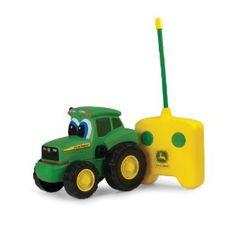 John Deere Johnny Tractor Radio Control --- http://www.amazon.com/Deere-Johnny-Tractor-Radio-Control/dp/B004QM8B3Q/?tag=marketsoftwa-20