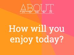 Question of the day... #ABOUTWOMEN #enjoy #today #happy #fulfilled   Please join the judgment-free convHERsation... https://www.facebook.com/groups/NikkiNiglABOUTWOMEN