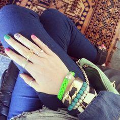 www.fashionjazz.co.za Bangles, Bracelets, Style Blog, Personal Style, Accessories, Jewelry, Fashion, Moda, Jewlery