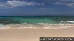 waves gif | Tags: Beach , waves