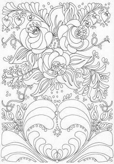 Scandinavian Coloring Book Pg 38