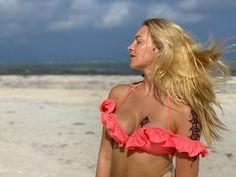 BASIA KURDEJ - SZATAN - 2021. Bikinis, Swimwear, Fashion, Bathing Suits, Moda, Swimsuits, Fashion Styles, Bikini, Bikini Swimwear