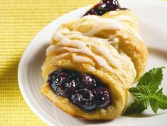 Yum! Check out the Blueberry Moon Pastries from Lucky Leaf. I'm going to try it, and you should too!