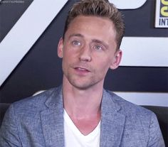 Tom Hiddleston at Comic-Con in San Diego