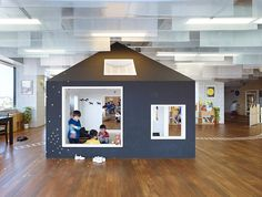 Kids Space Design. Office-kiddy shonan CX nursery school