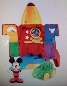 Cohete espacial Mickey Mouse en Madrid - vibbo - 94997585