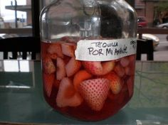 DIY Liquor Infusions! Mango Rum, Fresh Strawberry Tequila, Organic Basil-Mint Vodka