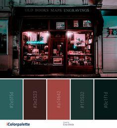 17 Color Palette inspirations from Elsa bleda – color of life Movie Color Palette, Retro Color Palette, Dark Color Palette, Dark Colors, Cinema Colours, Street Image, Color Script, Room Paint Colors, Color Psychology