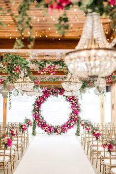 Fresh Ideas And Wedding Trends 2020 ❤ wedding ideas boho vintage ceremony with. Fresh Ideas And Wedding Trends 2020 ❤ wedding ideas boho vintage ceremony with pink flowers and round altar thanos asfis with velvet rose studio Wedding Ceremony Decorations, Wedding Venues, Decor Wedding, Wedding Arches, Wedding Backdrops, Wedding Centerpieces, Chandelier Wedding Decor, Quinceanera Decorations, Ceremony Arch
