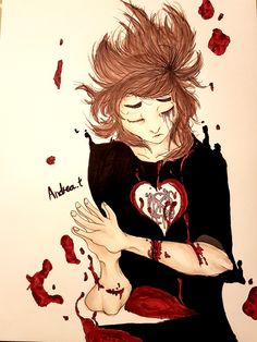 Let the Blood Float, Let Me Disappear by Andrea.†