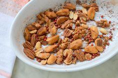 Roasted Cinnamon Nuts