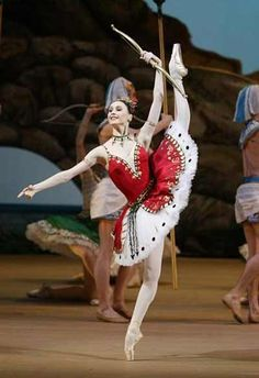 """Svetlana Zakharova as Aspicia in """"The Pharaoh's Daughter"""" (Bolshoi Ballet). Photo: D. Yusupov"""